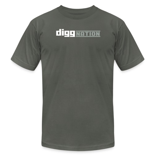 diggnation 2 color - Unisex Jersey T-Shirt by Bella + Canvas