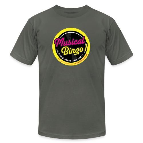 MUSICAL BINGO LOGO - Men's Jersey T-Shirt