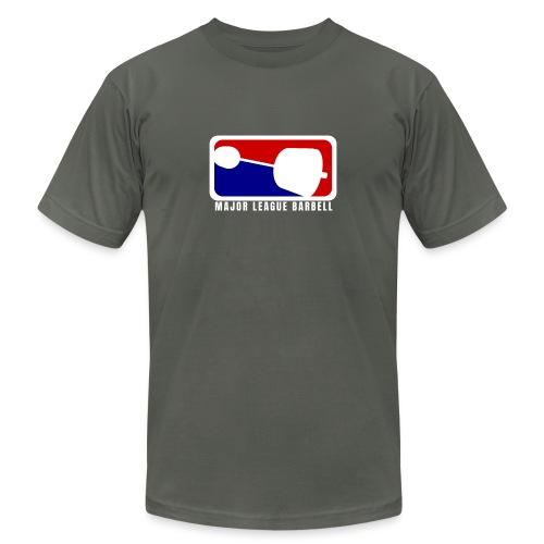 Major League Barbell - Unisex Jersey T-Shirt by Bella + Canvas