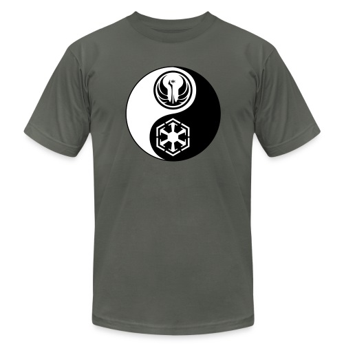 Star Wars SWTOR Yin Yang 2-Color - Unisex Jersey T-Shirt by Bella + Canvas
