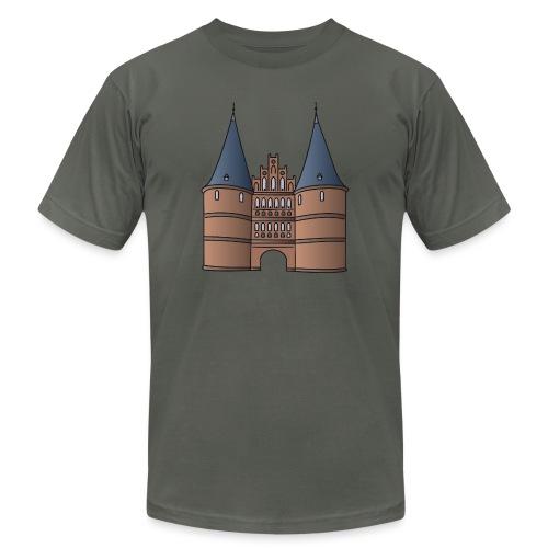Citygate, Holstentor Lübeck - Unisex Jersey T-Shirt by Bella + Canvas