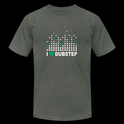I heart dubstep - Unisex Jersey T-Shirt by Bella + Canvas