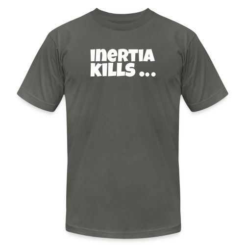 inertia kills - Unisex Jersey T-Shirt by Bella + Canvas