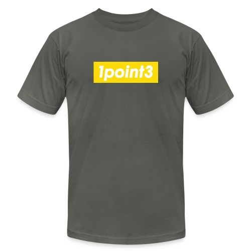 1point3 yellow - Unisex Jersey T-Shirt by Bella + Canvas