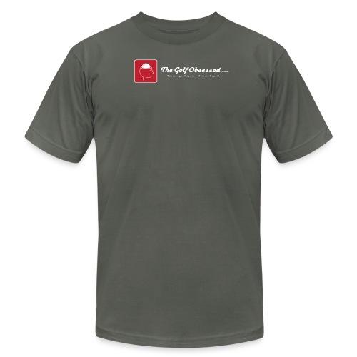 TGO logostrip LG v3 png - Unisex Jersey T-Shirt by Bella + Canvas