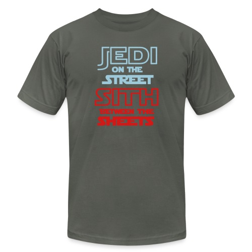 Jedi Sith Awesome Shirt - Unisex Jersey T-Shirt by Bella + Canvas