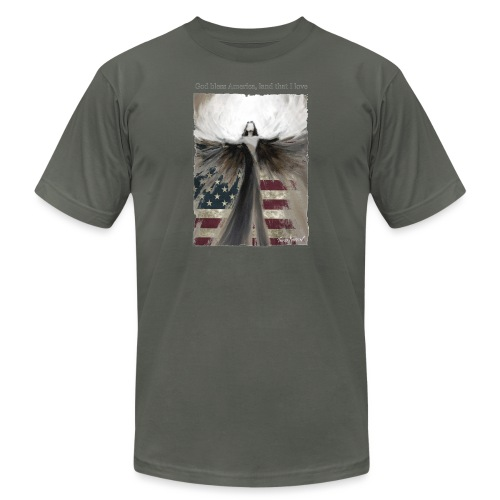 God bless America_design5 - Unisex Jersey T-Shirt by Bella + Canvas