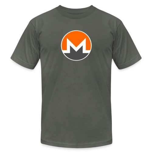 Monero crypto currency - Unisex Jersey T-Shirt by Bella + Canvas