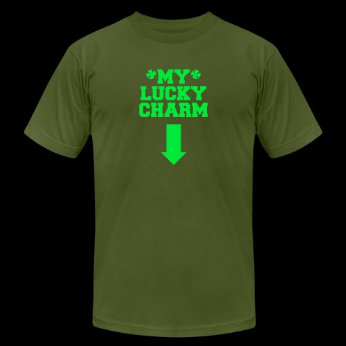 my lucky charm - Unisex Jersey T-Shirt by Bella + Canvas