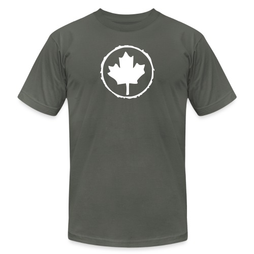 Retro Leaf - Unisex Jersey T-Shirt by Bella + Canvas