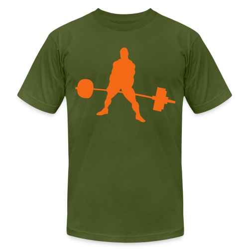 Powerlifting - Unisex Jersey T-Shirt by Bella + Canvas