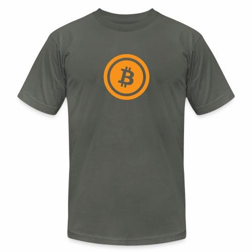 Bitcoin branding 45 - Unisex Jersey T-Shirt by Bella + Canvas