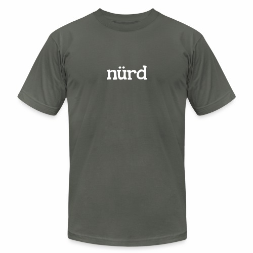 nürd - Unisex Jersey T-Shirt by Bella + Canvas