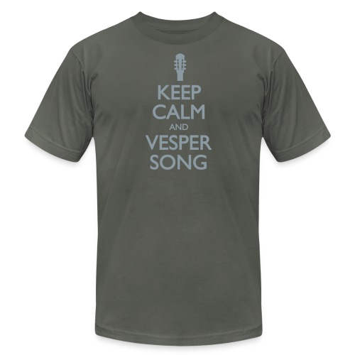 Keep Calm and Vesper Song - Unisex Jersey T-Shirt by Bella + Canvas