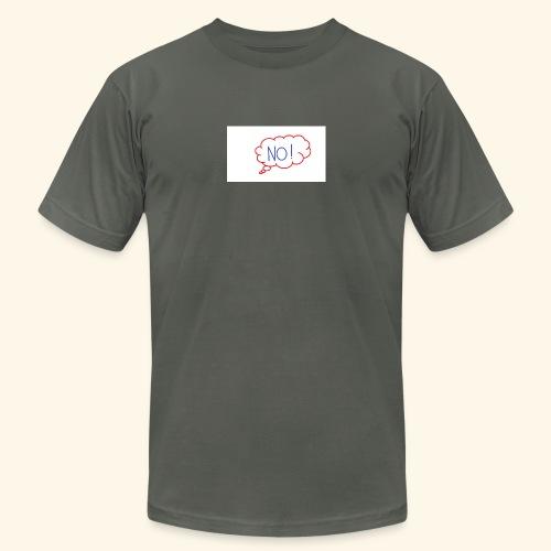 NO! - Grace Sakyi - Unisex Jersey T-Shirt by Bella + Canvas