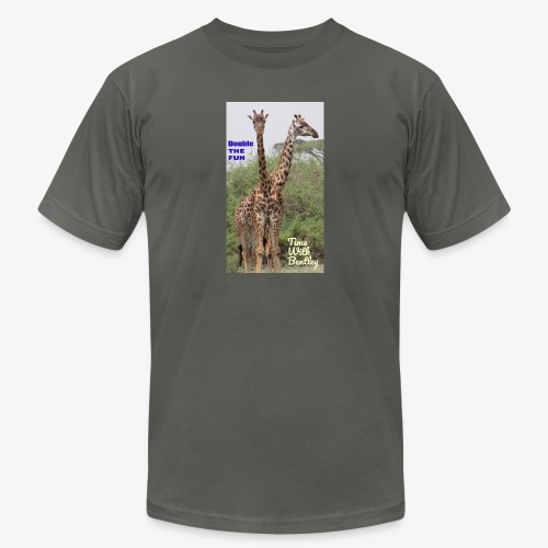 Two Headed Giraffe - Unisex Jersey T-Shirt by Bella + Canvas