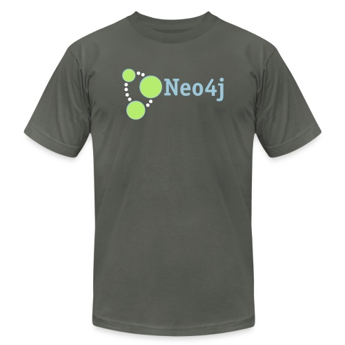 Neo4j Pennant - Unisex Jersey T-Shirt by Bella + Canvas