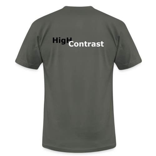 High Contrast - Unisex Jersey T-Shirt by Bella + Canvas