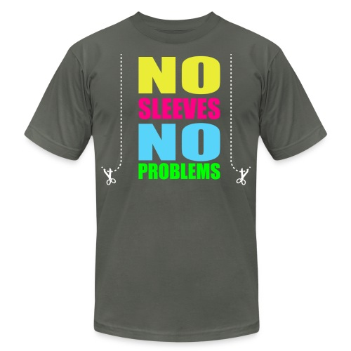 nosleevesneonwhite - Men's Jersey T-Shirt
