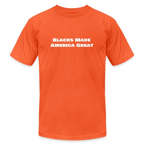 blacks_made_america2 - Unisex Jersey T-Shirt by Bella + Canvas
