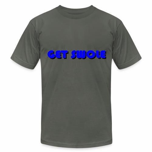 GET SWOLE BLUE - Men's  Jersey T-Shirt