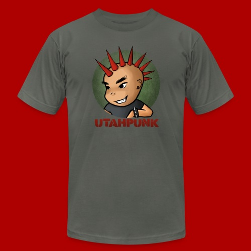 Utahpunk Logo - Men's Fine Jersey T-Shirt