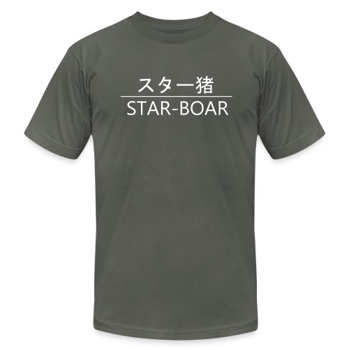 Star-Boar - Men's Fine Jersey T-Shirt