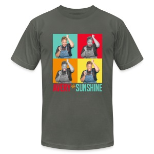 Hollywood Squares - Men's T-Shirt by American Apparel