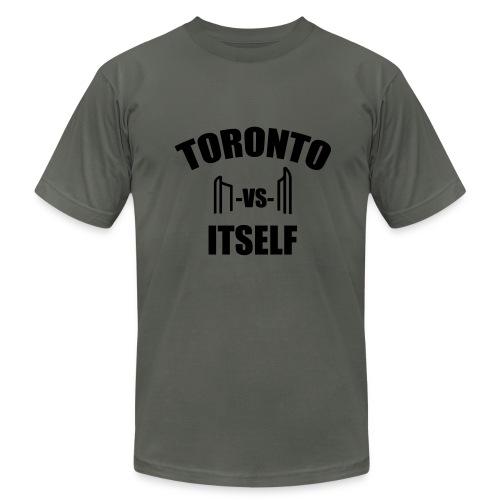6 Versus 6 - Men's Fine Jersey T-Shirt