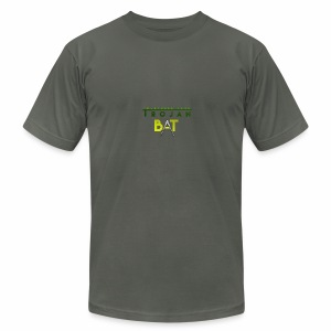 New Trojan Bat Logo - Men's Fine Jersey T-Shirt