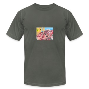 skribble TWB - Men's Fine Jersey T-Shirt