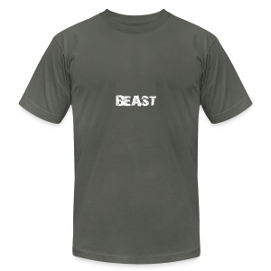 beast tee - Men's T-Shirt by American Apparel
