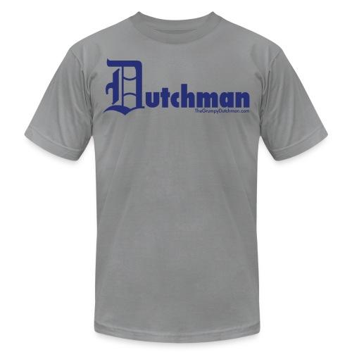 10 final dutchman d blue - Unisex Jersey T-Shirt by Bella + Canvas