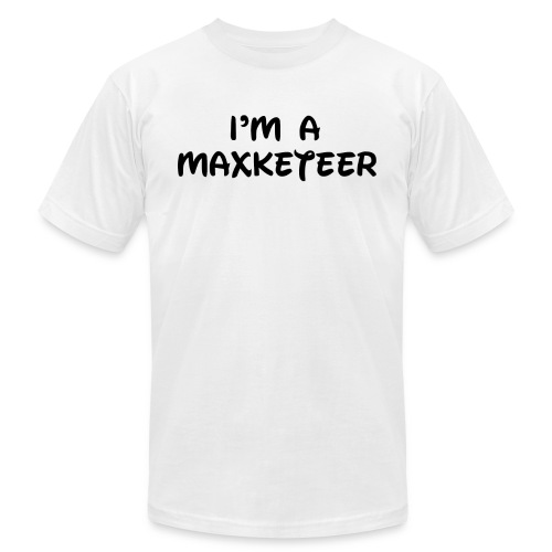 Maxketeer copy - Unisex Jersey T-Shirt by Bella + Canvas