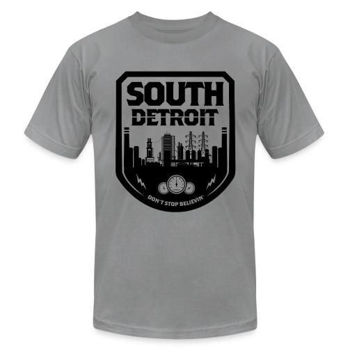 South Detroit Black - Unisex Jersey T-Shirt by Bella + Canvas