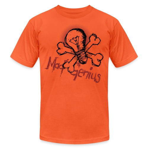 Mad Genius - On Light - Unisex Jersey T-Shirt by Bella + Canvas