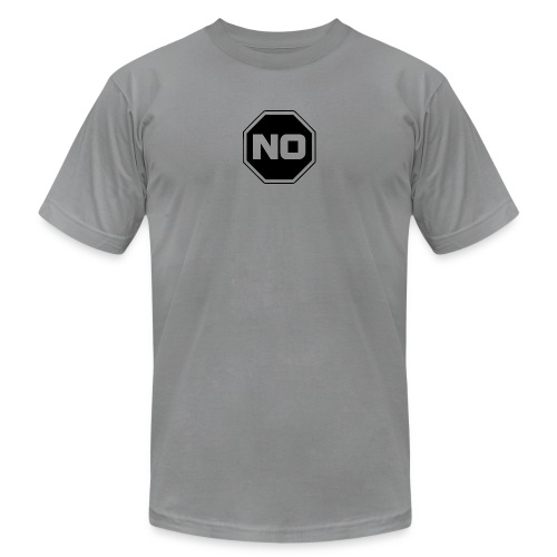 stopp say no - Unisex Jersey T-Shirt by Bella + Canvas