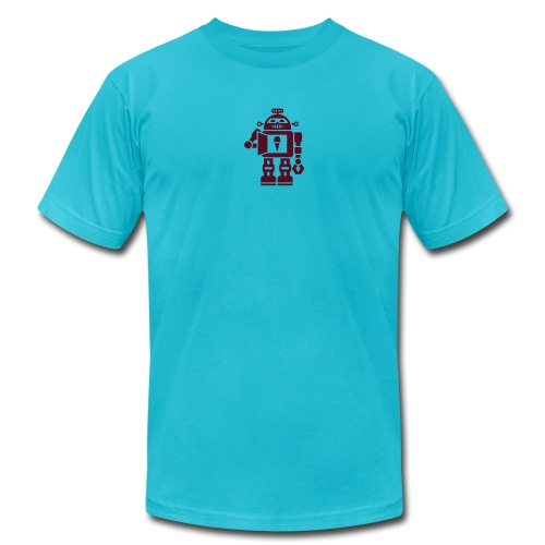 robot 5 - Unisex Jersey T-Shirt by Bella + Canvas