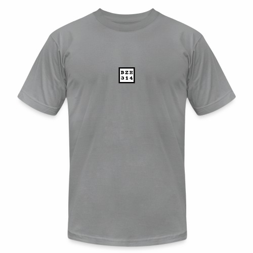 BZH314 Games Small Logo - Unisex Jersey T-Shirt by Bella + Canvas