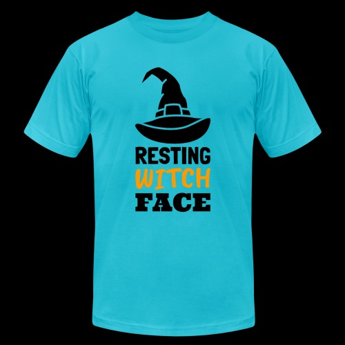 Resting Witch Face | Funny Halloween - Unisex Jersey T-Shirt by Bella + Canvas