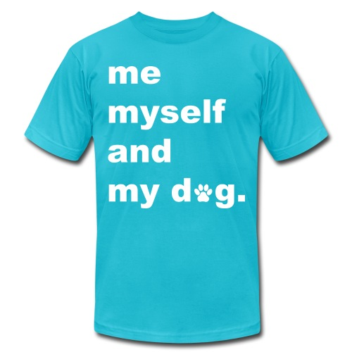 Me Myself And My Dog - Men's Jersey T-Shirt