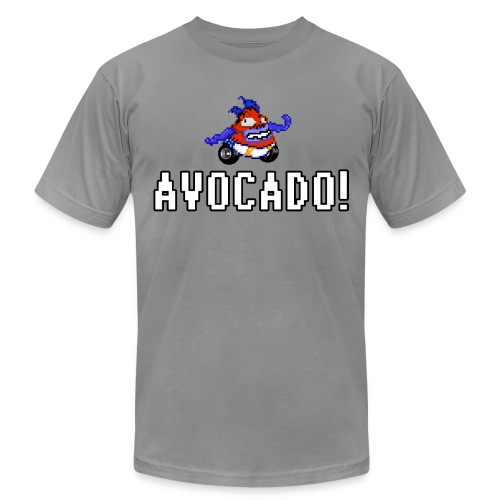 happyhour soniqua avocado1 - Unisex Jersey T-Shirt by Bella + Canvas