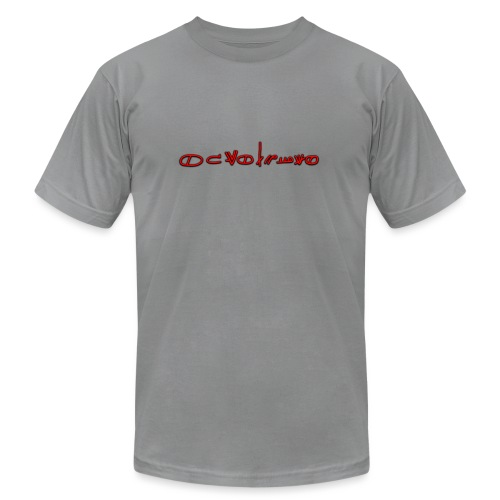 Sign1News in written ASL (Exclusive Design) - Unisex Jersey T-Shirt by Bella + Canvas