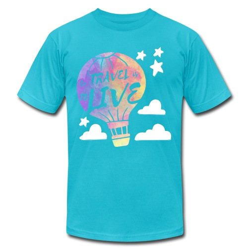 To Travel Is To Live - Men's Jersey T-Shirt
