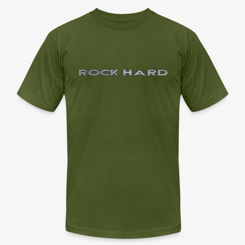 ROCK HARD - Unisex Jersey T-Shirt by Bella + Canvas