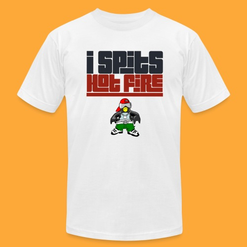I Spits Hot Fire - Men's Jersey T-Shirt