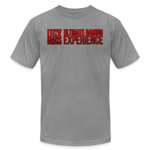 red logo shirt - Unisex Jersey T-Shirt by Bella + Canvas