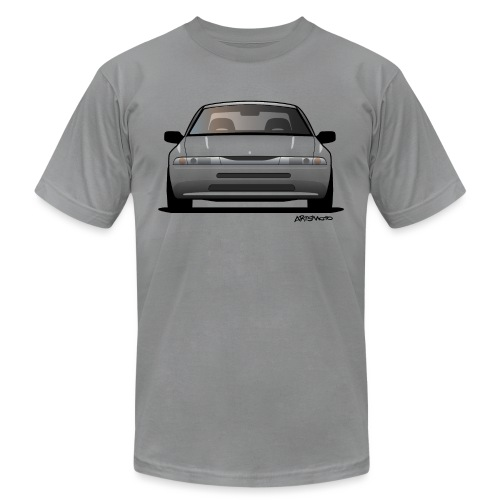 Subaru Alcyone SVX Modern JDM Icon Sticker - Unisex Jersey T-Shirt by Bella + Canvas