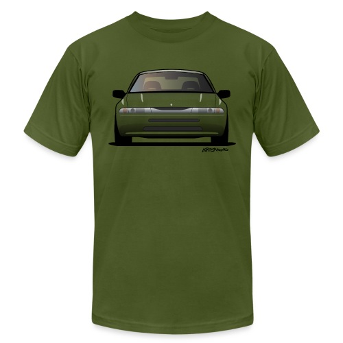 Subaru Alcyone SVX Modern JDM Icon Sticker - Unisex Jersey T-Shirt by Bella + Canvas