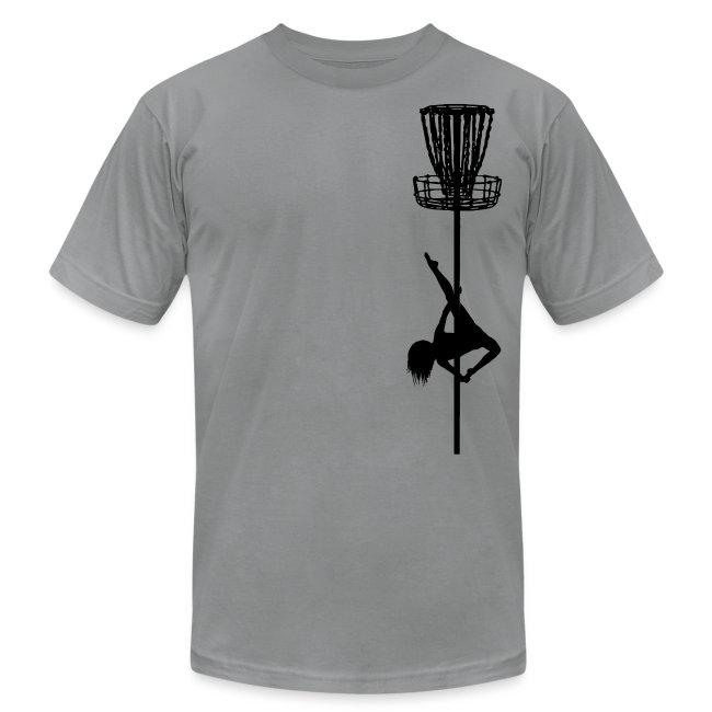 Disc Golf Diva Pole Dancer Black Print